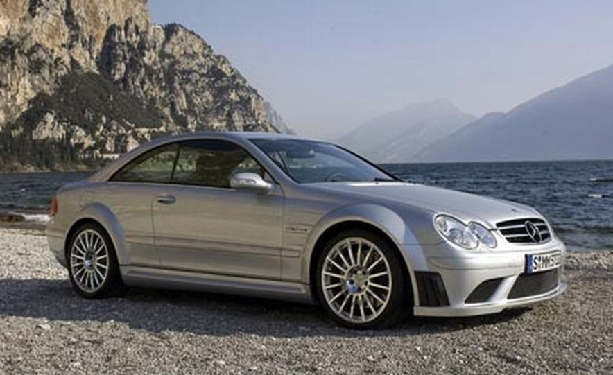 2008 Mercedes-Benz CLK63 AMG Black Series - Slide 12