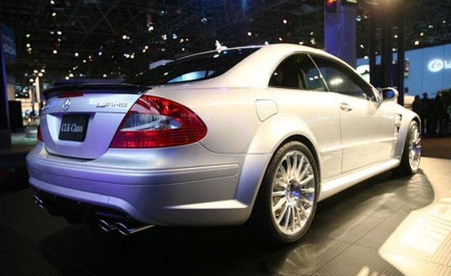 2008 Mercedes-Benz CLK63 AMG Black Series - Slide 13