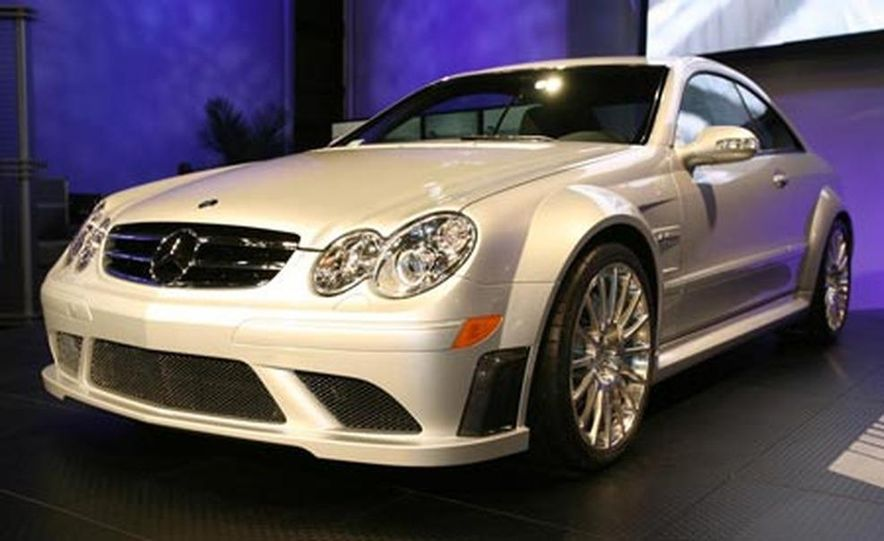 2008 Mercedes-Benz CLK63 AMG Black Series - Slide 3