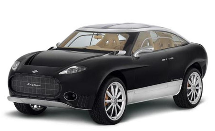 2009 Spyker D12 Peking-to-Paris - Slide 1
