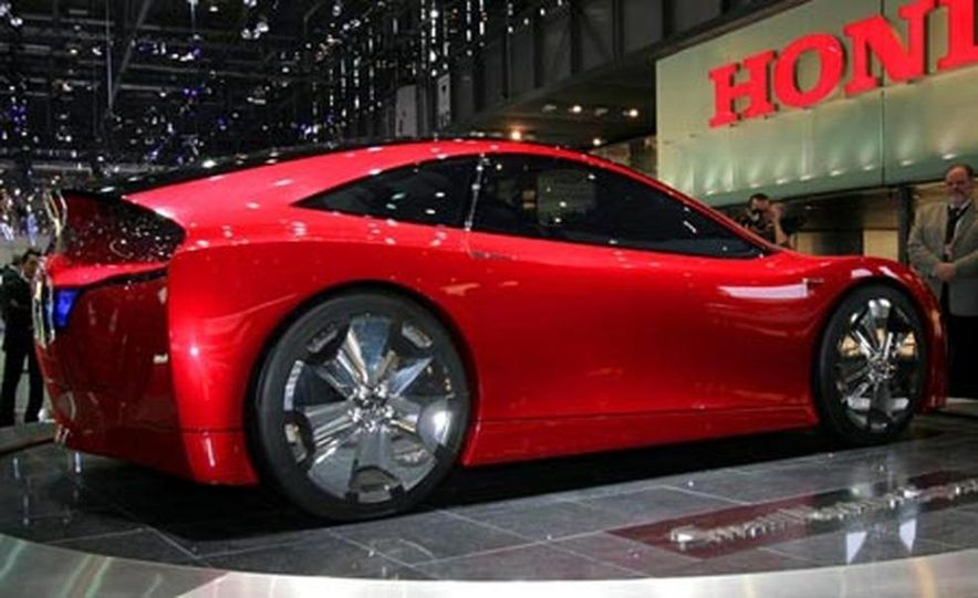 Honda Small Hybrid Sports concept - Slide 9