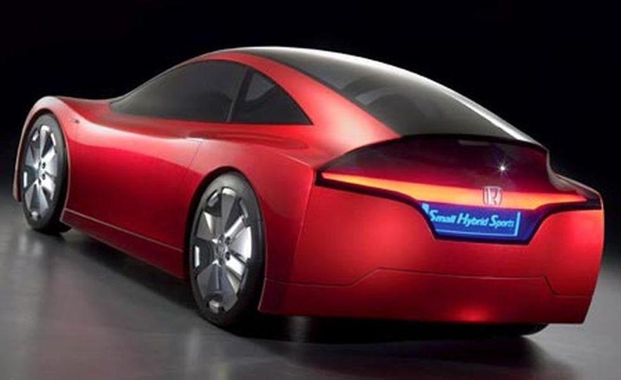 Honda Small Hybrid Sports concept - Slide 16