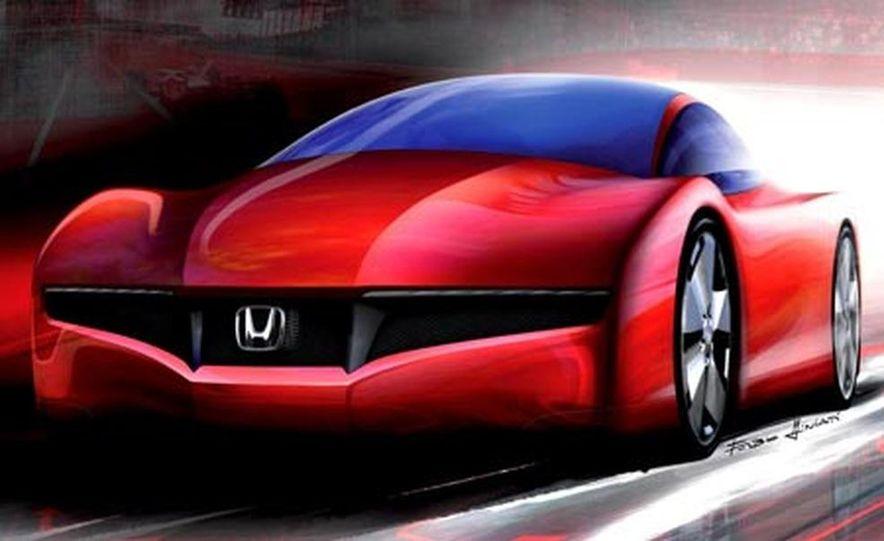 Honda Small Hybrid Sports concept - Slide 17