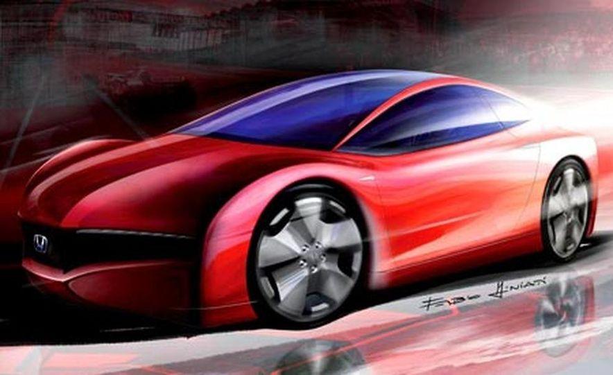 Honda Small Hybrid Sports concept - Slide 18