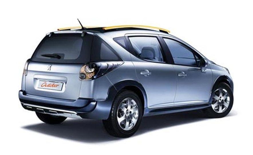 Peugeot 207 SW Outdoor concept - Slide 8