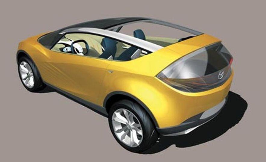 Mazda Hakaze concept - Slide 11
