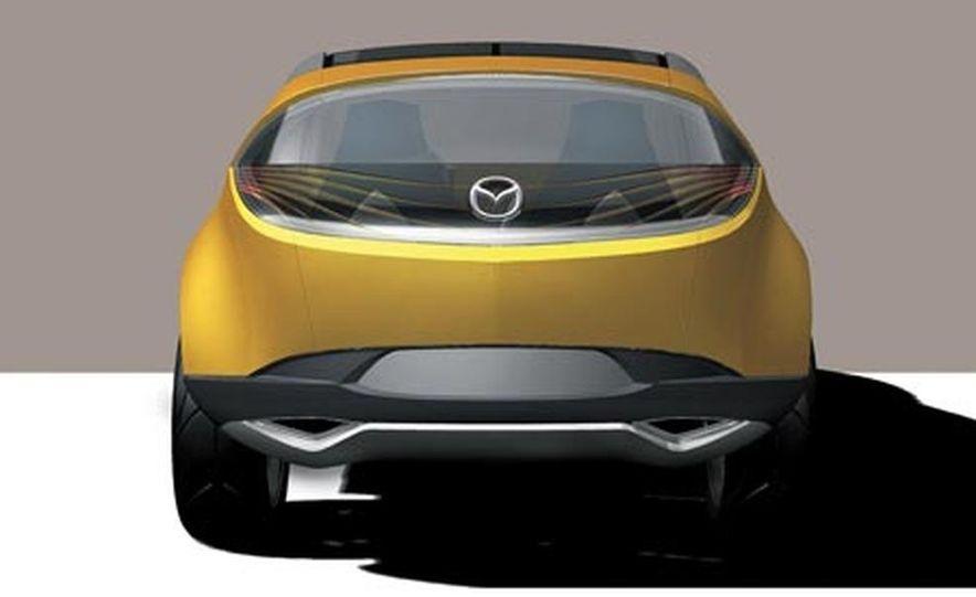 Mazda Hakaze concept - Slide 12