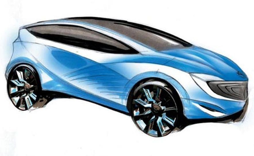 Mazda Hakaze concept - Slide 13