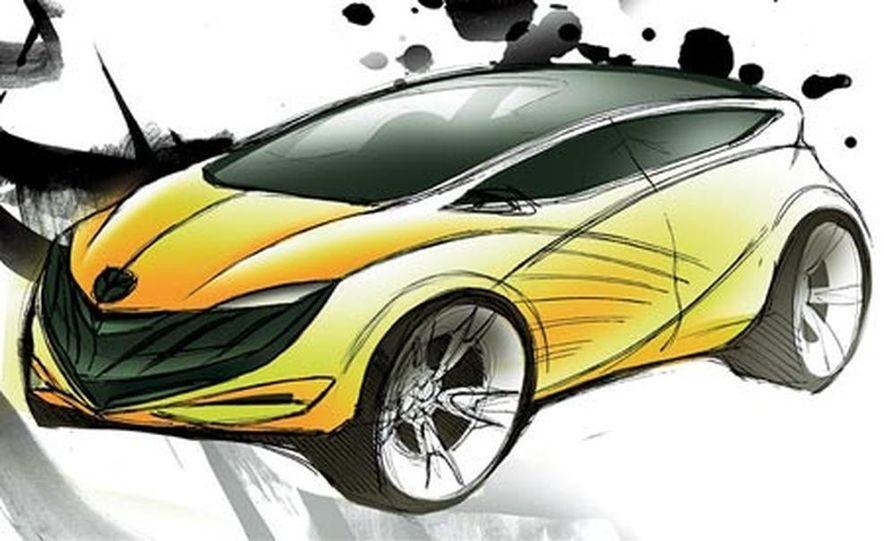 Mazda Hakaze concept - Slide 14