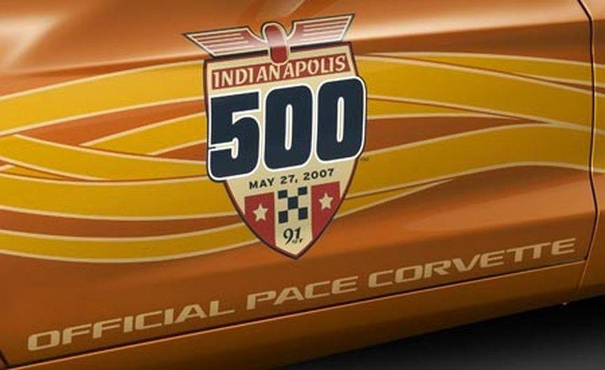 2007 Chevrolet Corvette Convertible Indy Pace Car Edition - Slide 14