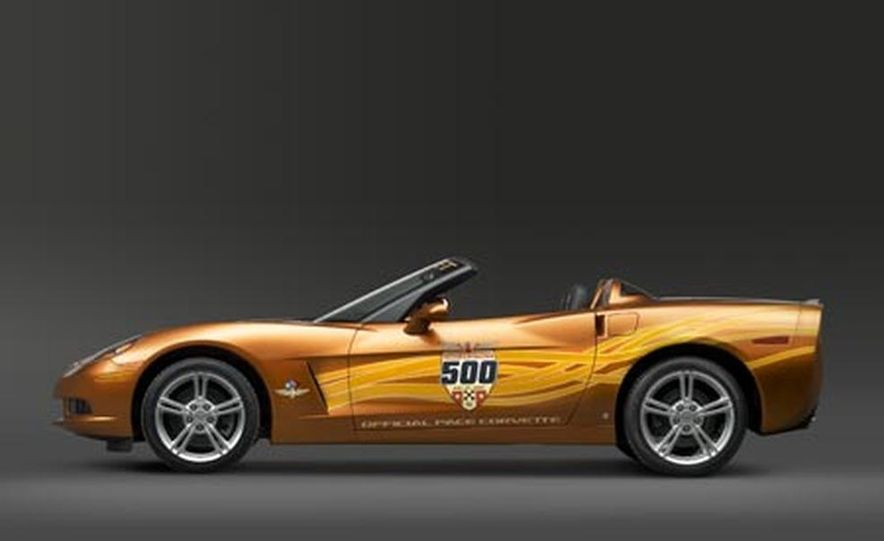 2007 Chevrolet Corvette Convertible Indy Pace Car Edition - Slide 4