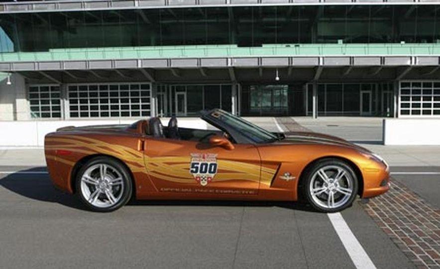 2007 Chevrolet Corvette Convertible Indy Pace Car Edition - Slide 7