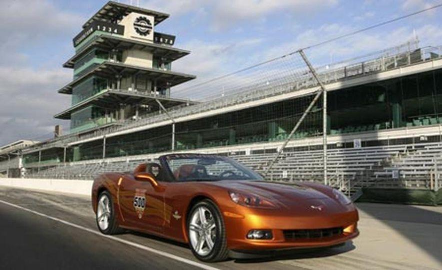 2007 Chevrolet Corvette Convertible Indy Pace Car Edition - Slide 8