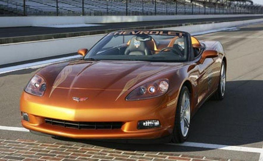 2007 Chevrolet Corvette Convertible Indy Pace Car Edition - Slide 9