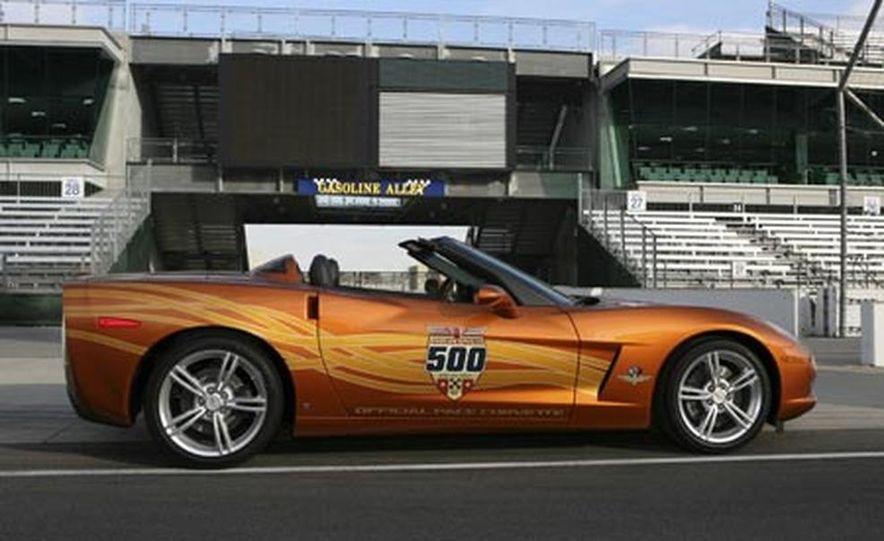 2007 Chevrolet Corvette Convertible Indy Pace Car Edition - Slide 10