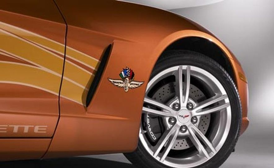 2007 Chevrolet Corvette Convertible Indy Pace Car Edition - Slide 20