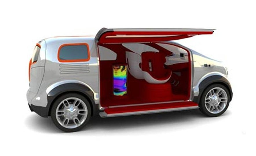 Ford Airstream concept - Slide 2