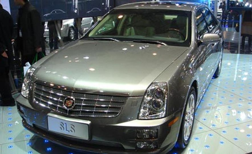 Cadillac SLS - Slide 3