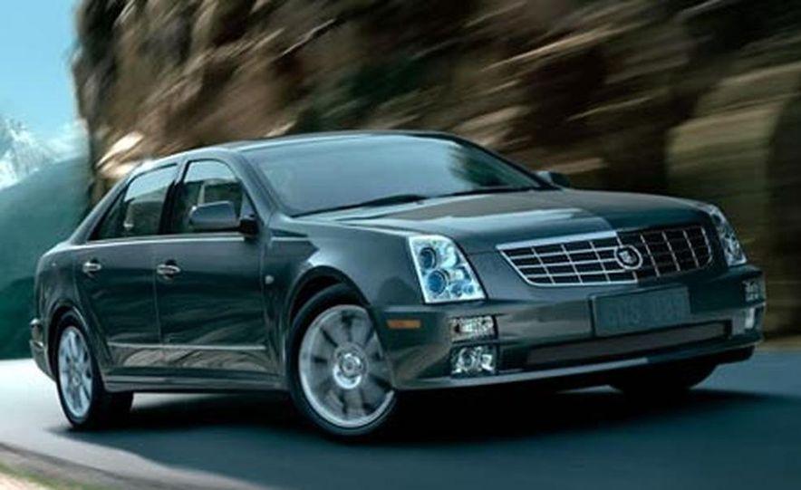 Cadillac SLS - Slide 5
