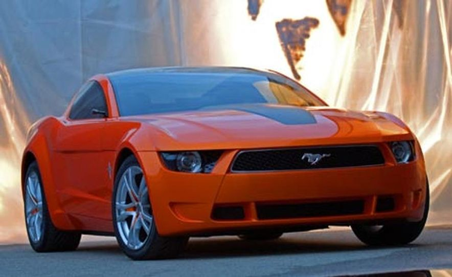 Giugiaro Ford Mustang Concept - Slide 1