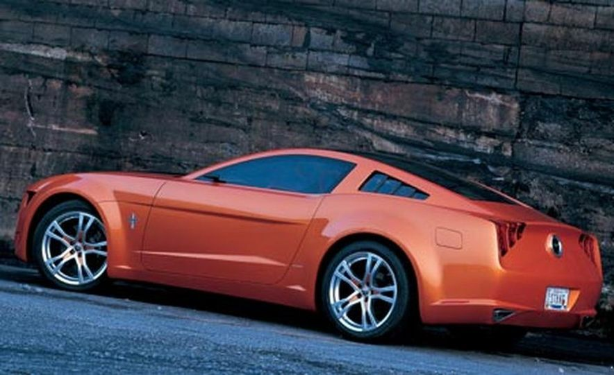 Giugiaro Ford Mustang Concept - Slide 9