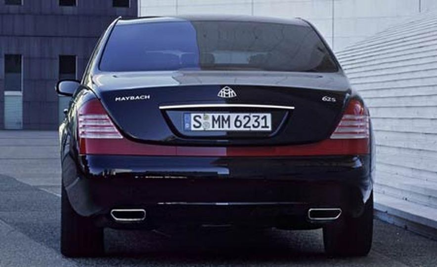 2007 Maybach 62S - Slide 1