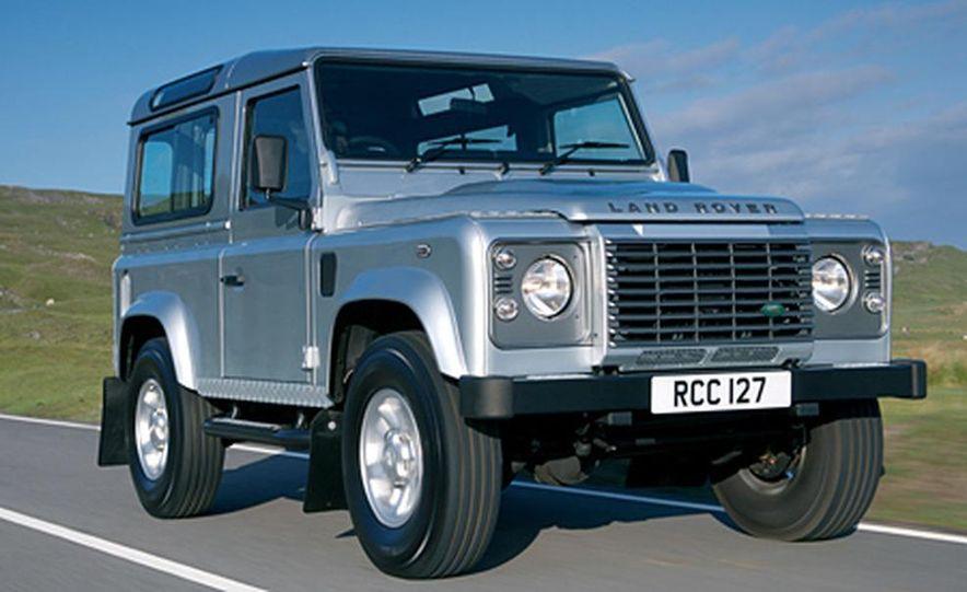 2007 Land Rover Defender - Slide 4