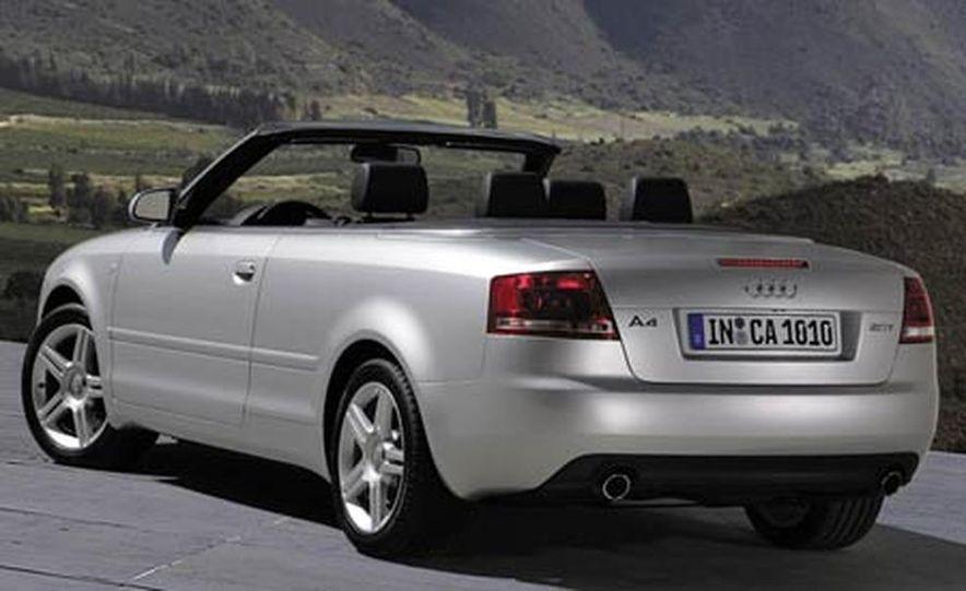 2007 Audi S4 Cabriolet Exterior - Slide 7