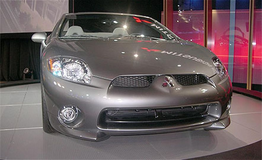 2007 Mitsubishi Eclipse Spyder - Slide 5