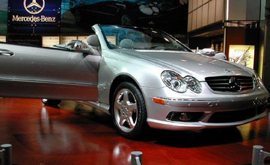 Mercedes-Benz CLK Cabriolet 2003 New York International Auto Show - Slide 1