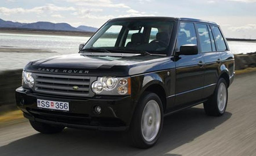 2007 Land Rover Range Rover Supercharged - Slide 4