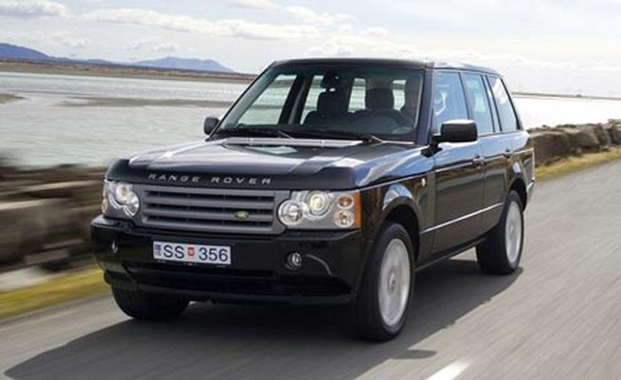 2007 Land Rover Range Rover Supercharged - Slide 6