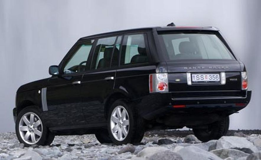 2007 Land Rover Range Rover Supercharged - Slide 7