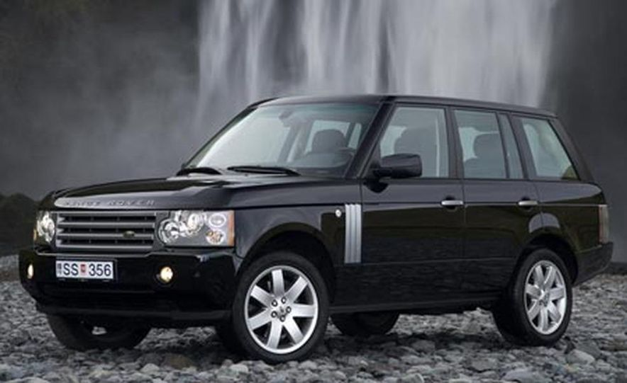 2007 Land Rover Range Rover Supercharged - Slide 8