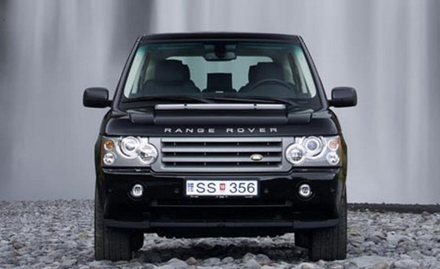 2007 Land Rover Range Rover Supercharged - Slide 9