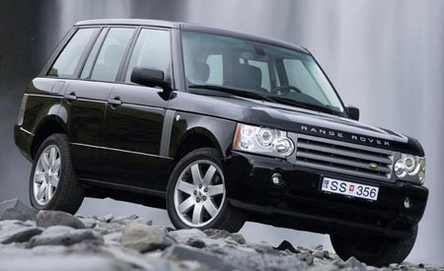 2007 Land Rover Range Rover Supercharged - Slide 10