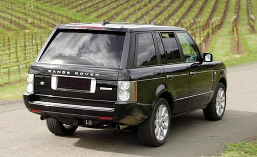 2007 Land Rover Range Rover Supercharged - Slide 1