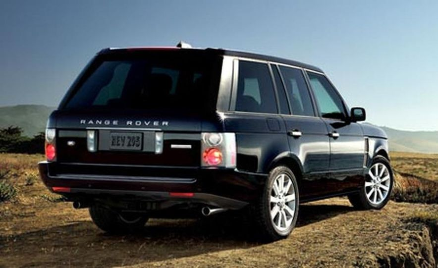 2007 Land Rover Range Rover Supercharged - Slide 3