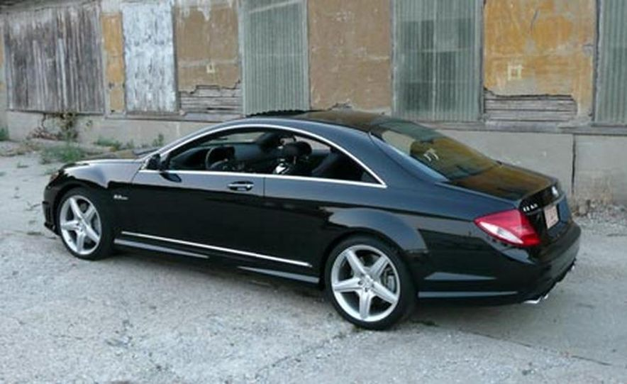 2008 MercedesBenz CL63 AMG  Photo Gallery  Car and Driver