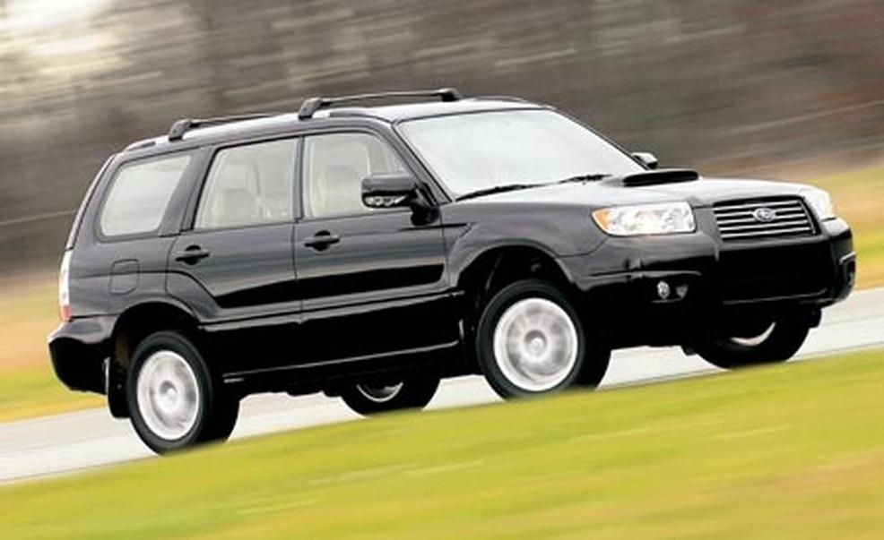 2006 Subaru Forester 2 5xt Pictures Photo Gallery Car And Driver