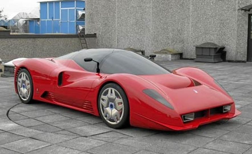 Pininfarina Ferrari P4-5 - Slide 11