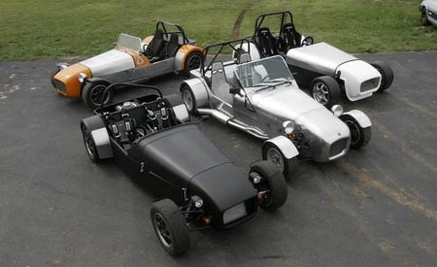 Chris Fiaccone's Locost sports car - Slide 21