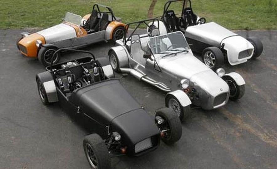 Chris Fiaccone's Locost sports car - Slide 22