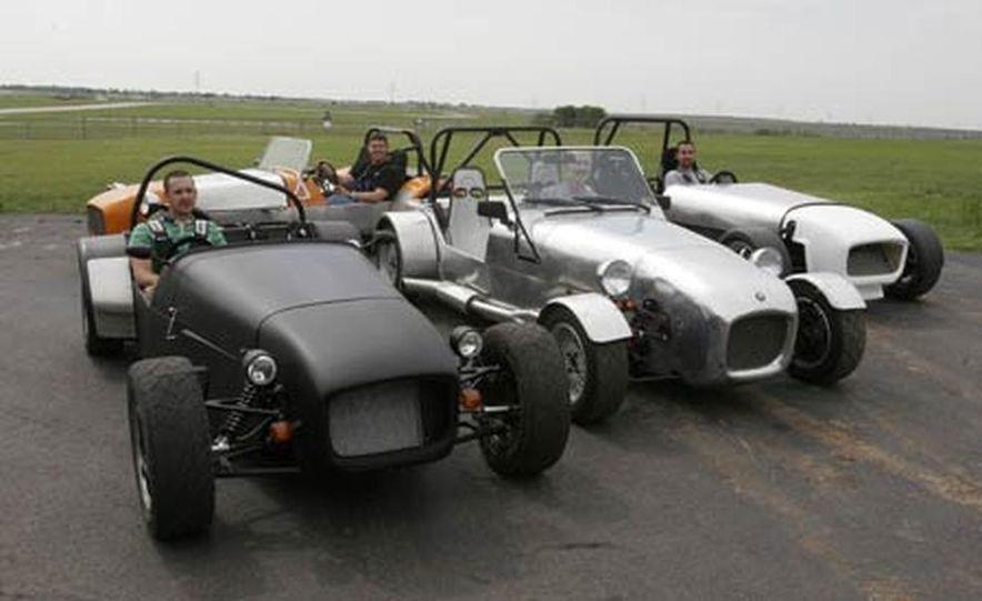 Chris Fiaccone's Locost sports car - Slide 23