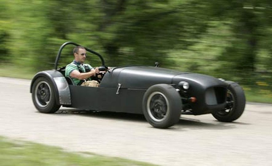 Chris Fiaccone's Locost sports car - Slide 2