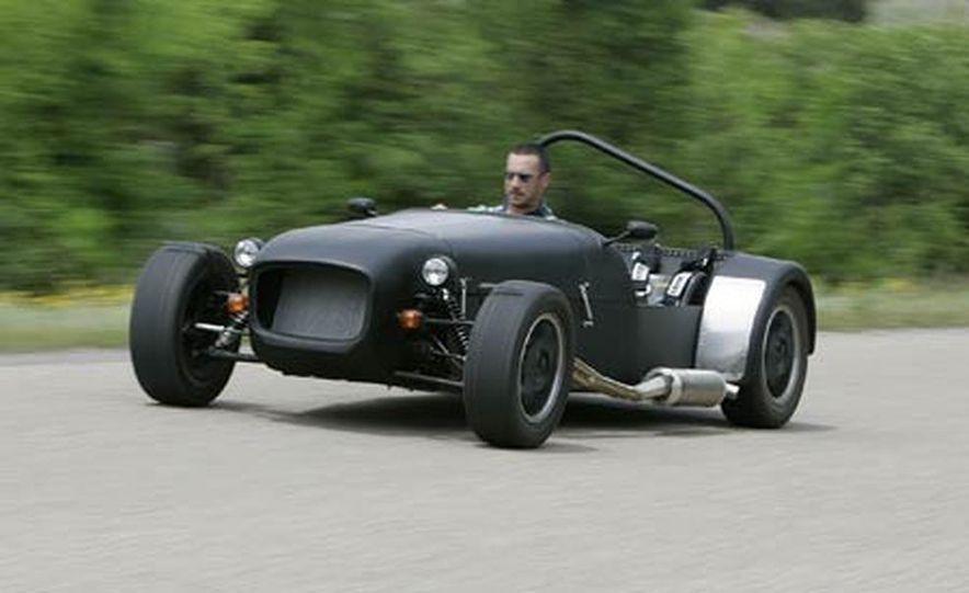 Chris Fiaccone's Locost sports car - Slide 3