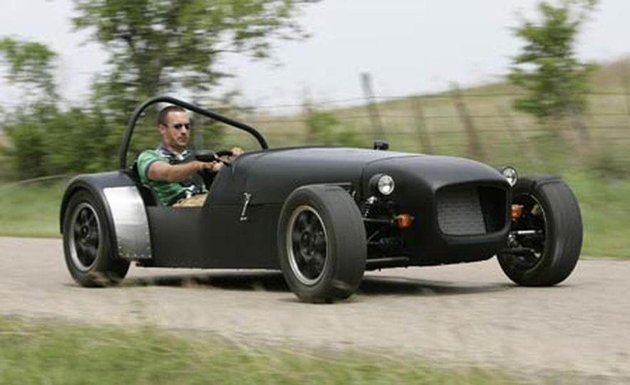 Chris Fiaccone's Locost sports car - Slide 6