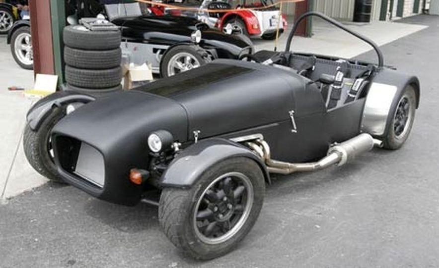 Chris Fiaccone's Locost sports car - Slide 13