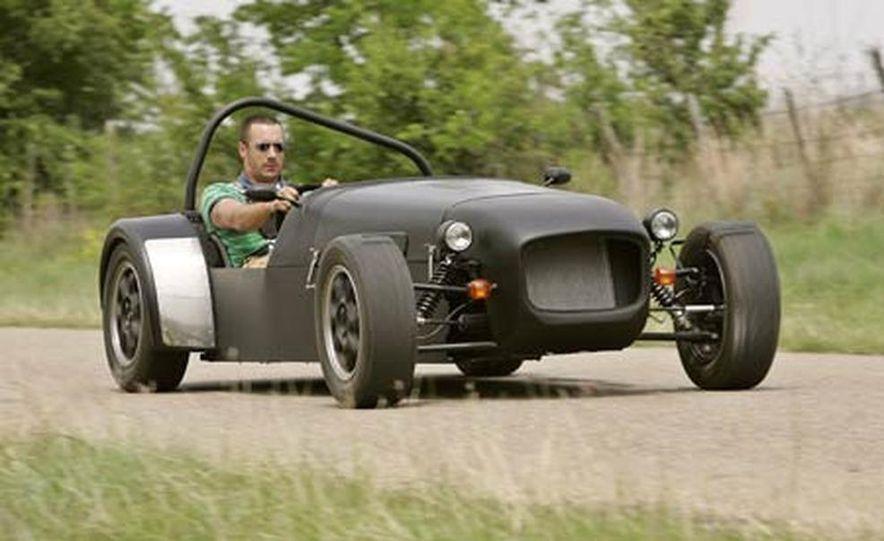 Chris Fiaccone's Locost sports car - Slide 14