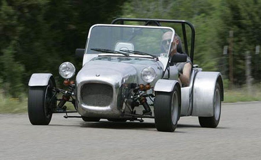 Chris Fiaccone's Locost sports car - Slide 27